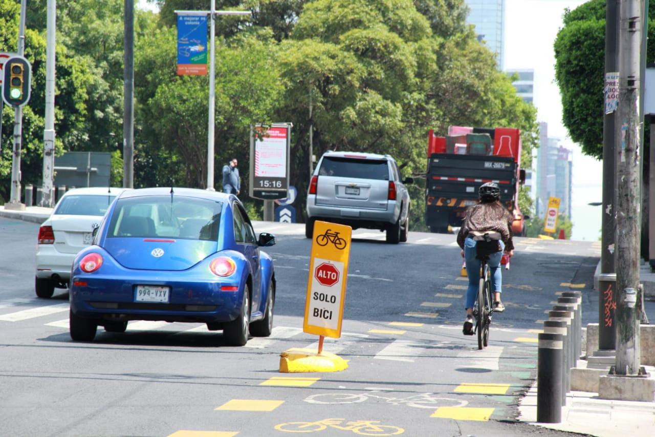 Aumenta hasta 250 por ciento el uso de las ciclovías en la Ciudad de México