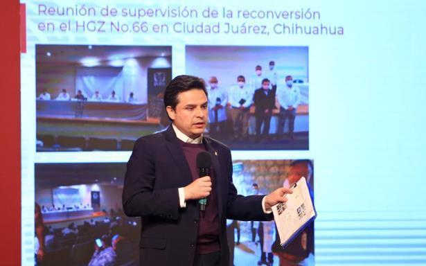 Despliega IMSS reconversión hospitalaria en Chihuahua para llegar a 789 camas en 30 días
