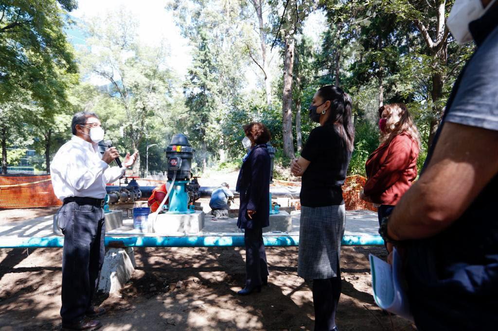 Registra 85 por ciento de avance ampliación de la Planta de Rebombeo de agua Peña Pobre en Tlalpan
