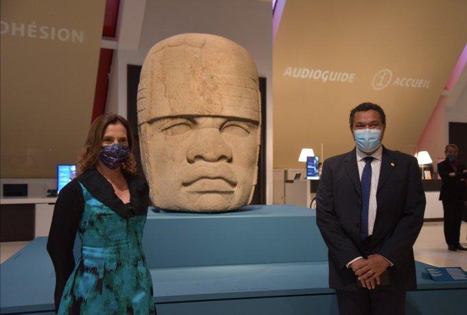 """Se inaugura la exposición """"Los Olmecas y las culturas del Golfo de México"""" en el Museo Quai Branly-Jacques Chirac en París"""