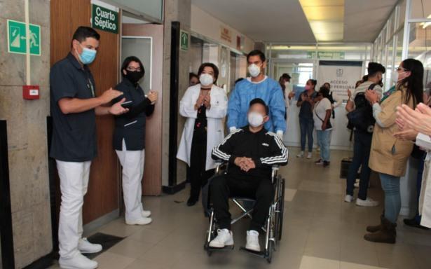 Paciente intubado le gana la batalla al COVID-19 en HGZ No. 29 del IMSS