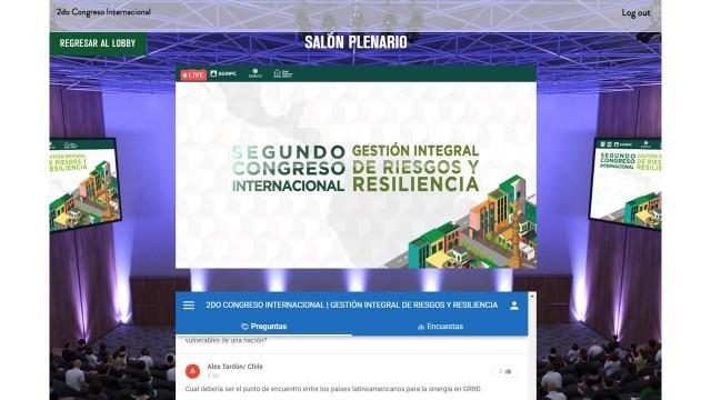 Se realiza segundo congreso internacional de gestión del riesgo y resiliencia en ciudades