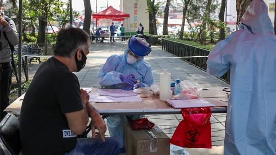 Gobierno de la Ciudad instala quioscos para  pruebas COVID-19 gratuitas y seguras en explanadas públicas