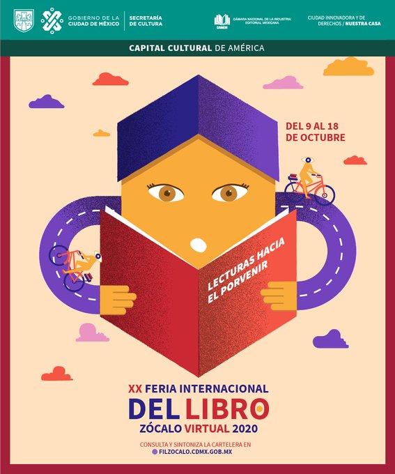 Autores como Juan Villoro y Guadalupe Nettel presentarán su obra reciente en el último viernes de la FIL Zócalo Virtual