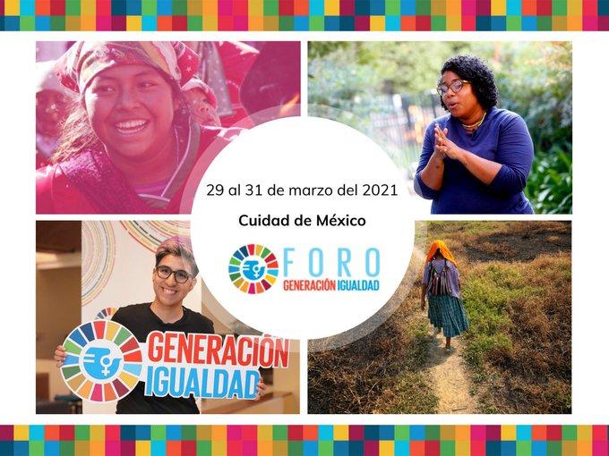 México anuncia las fechas de lanzamiento del Foro Generación Igualdad