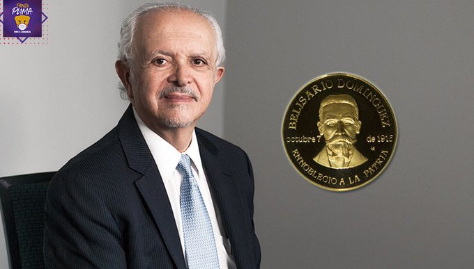 """Presenta rector de la UNAM candidatura de mario molina para recibir la medalla """"belisario domínguez"""""""
