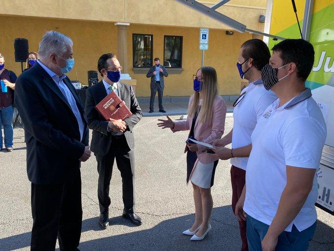 Consulado de México en Las Vegas recibe reconocimiento del gobernador de Nevada