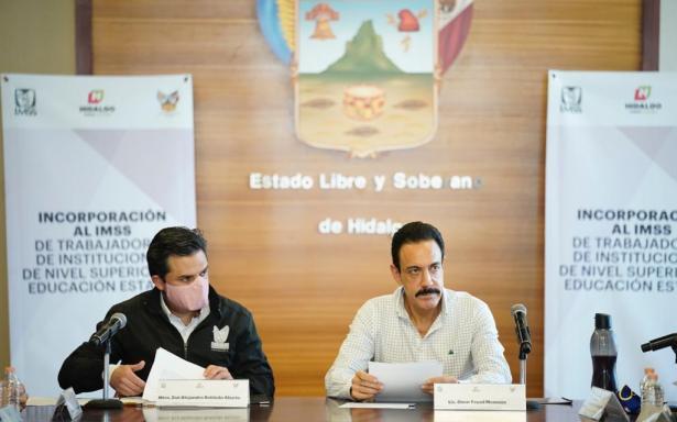 Se incorporarán al IMSS docentes de Educación Superior del estado de Hidalgo