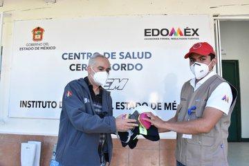 Entrega Salud Edoméx equipo para actividades de prevención de Dengue, Zika y Chikungunya
