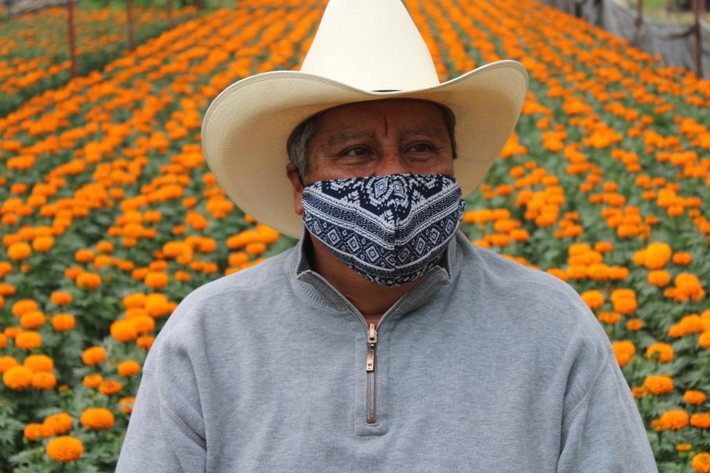 Invitan productores a celebrar Día de Muertos con cempasúchil cultivado en la ciudad