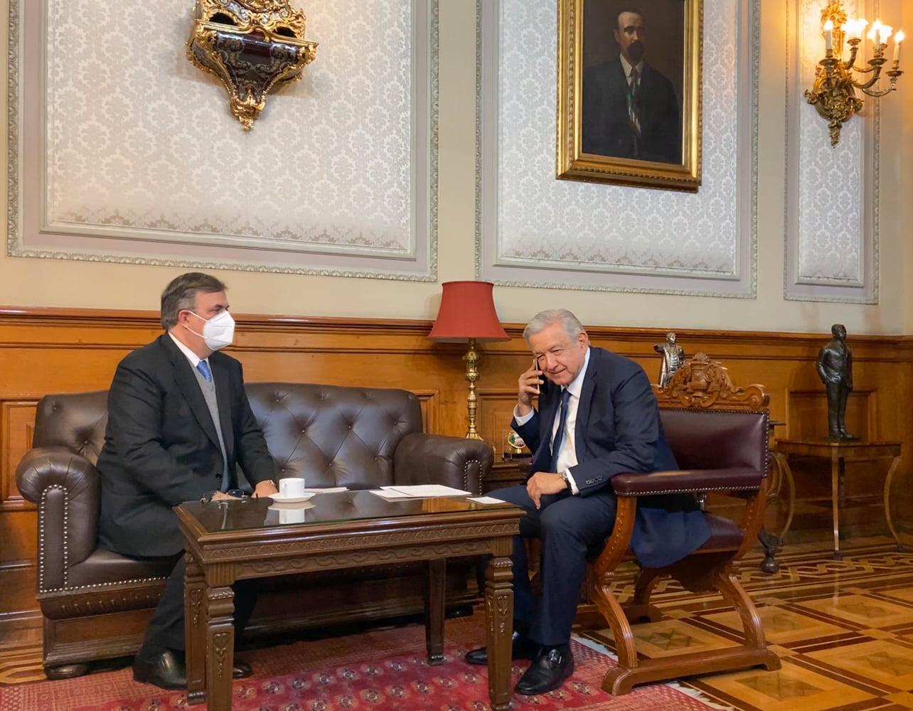 Dialogan presidentes de México y Alemania de economía y COVID-19