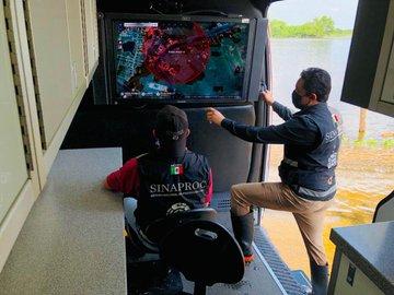 SRE suspende servicios en Campeche , Quintana Roo y Mérida por huracán Delta