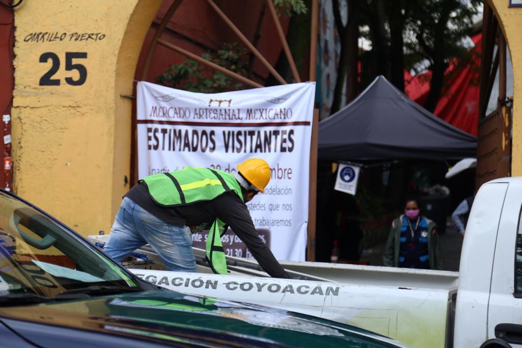 Mercado Artesanal Mexicano 414 en Coyoacán estará cerrado por remodelación