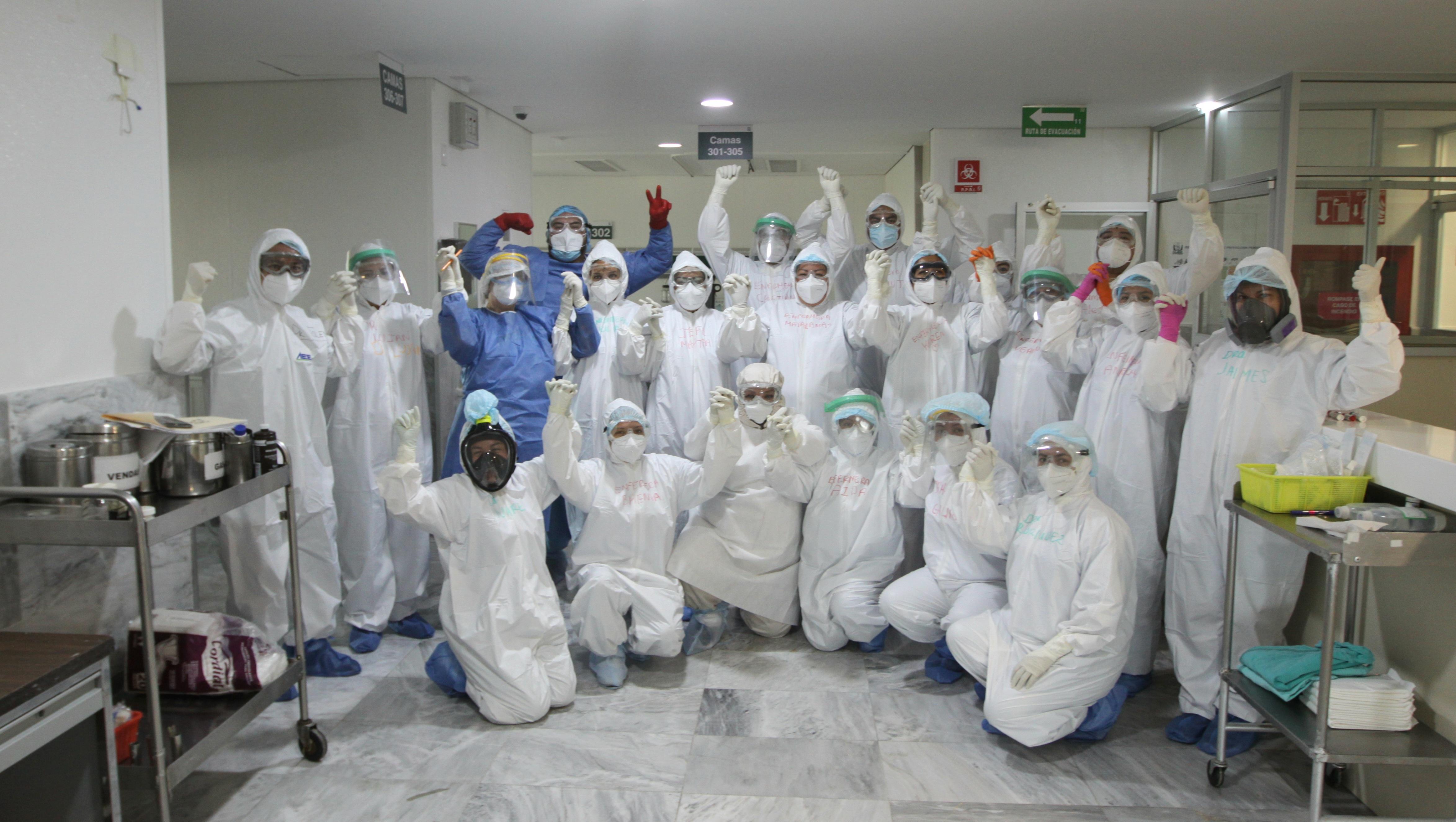 En el IMSS laboran más de dos mil 500 equipos de respuesta  COVID, que son el rostro más humano de la pandemia
