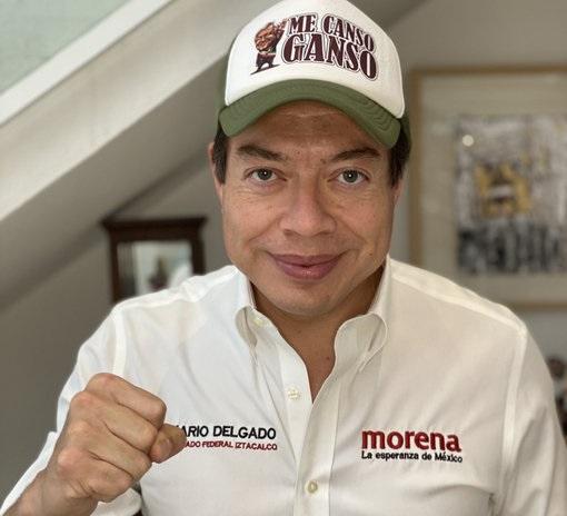 Mario Delgado gana Presidencia de MORENA