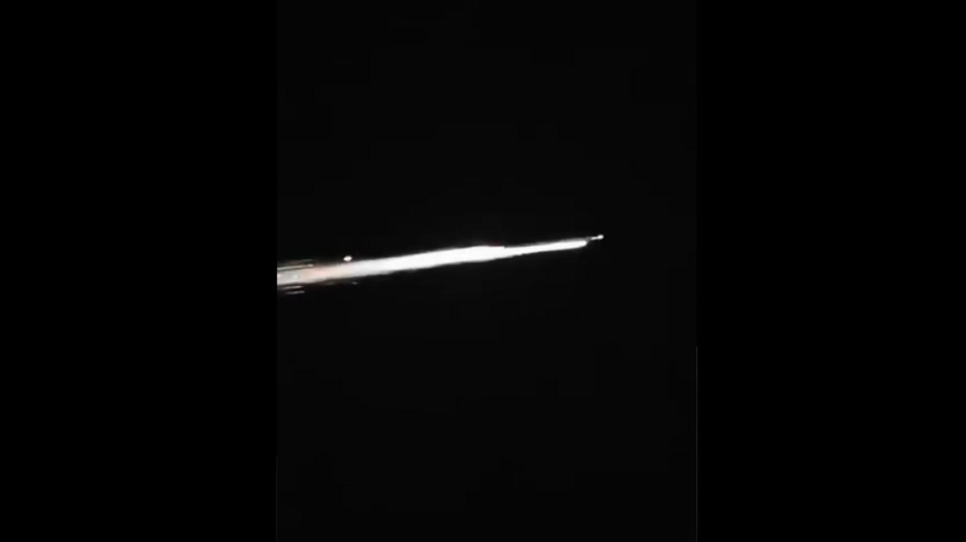 Imágenes del meteorito que cayó en Ciudad Victoria Tamaulipas