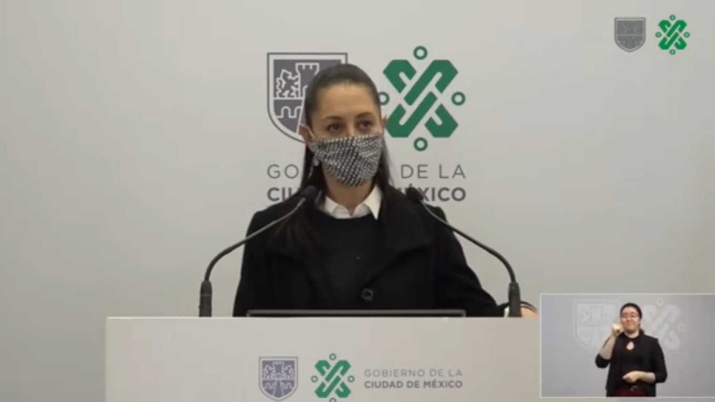 Claudia Sheinbaum informó que la Ciudad de México seguirá ensemáforo naranja parala próxima semana