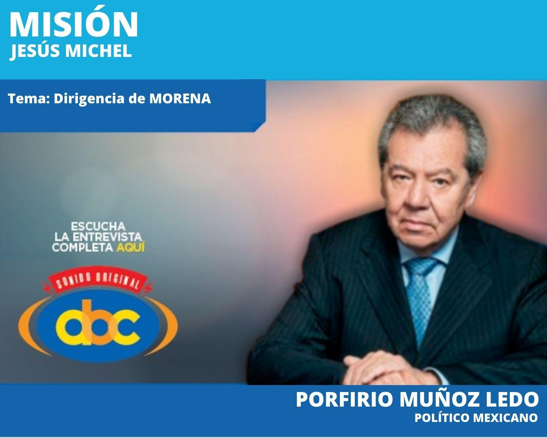 """""""El primer deber del INE es la equidad y luego la estrategia"""": Porfirio Muñoz Ledo"""