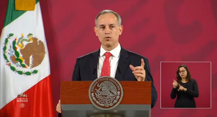 Lopez Gatell pide evitar congregaciones por se espacios de alto riesgo de contagio