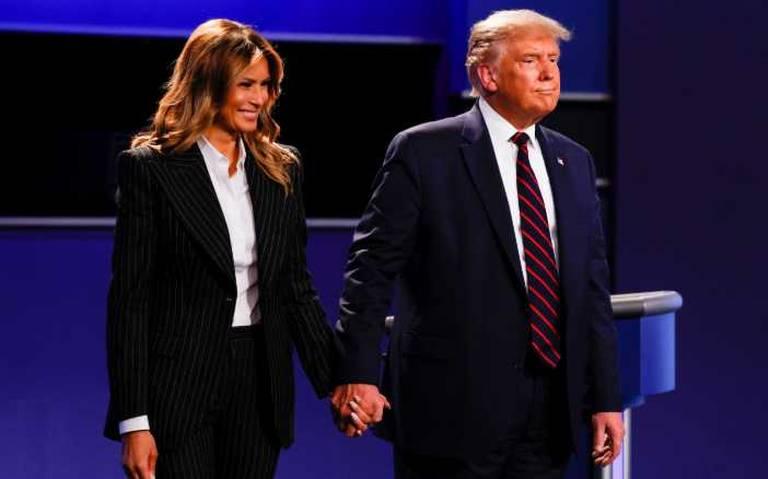Donald Trump y su esposa Melania dieron positivo a COVID – 19