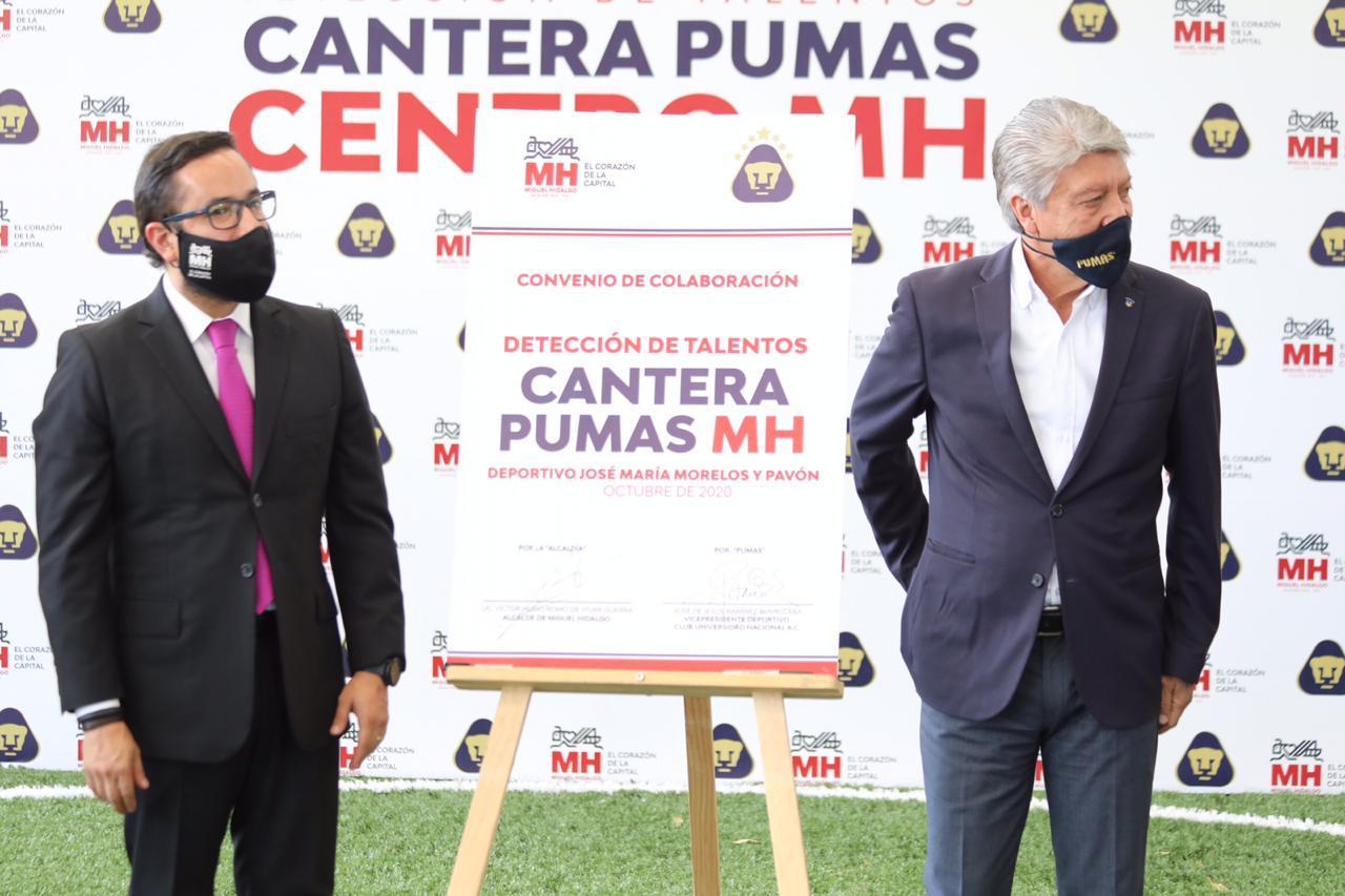 Pumas llevará talentos de Miguel Hidalgo a su cantera