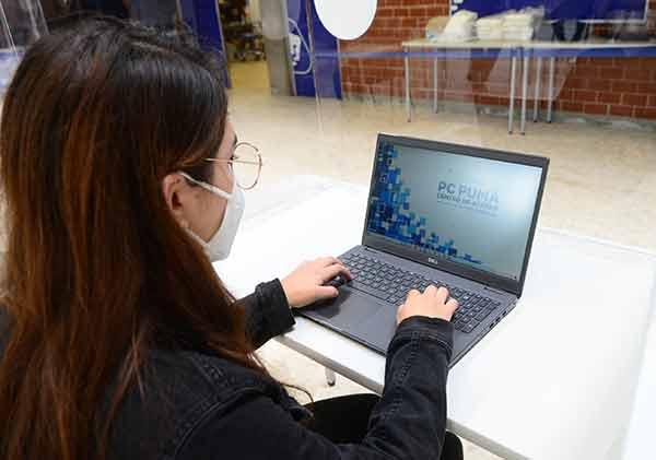 UNAM pone en funcionamiento mil 200 computadoras con internet para sus estudiantes y profesores, sin costo alguno.