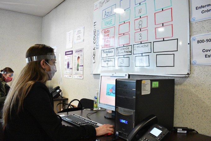 Atiende Salud Edoméx más de 116 mil llamadas en el número 800 900 3200, línea habilitada para orientar sobre el COVID-19