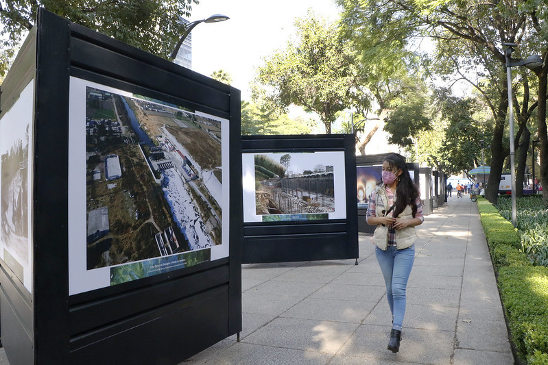 Secretaría de Cultura capitalina y Sacmex inauguran muestra visual para concientizar sobre el uso del agua