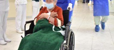 Mujer de 97 años  gana batalla al COVID-19 en Hospital Santa Cecilia