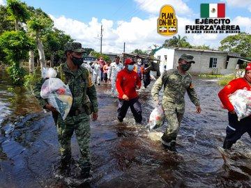 Ejército y Fuerza Aérea refuerzan las acciones de atención al COVID-19 en los estados de Chihuahua y Durango