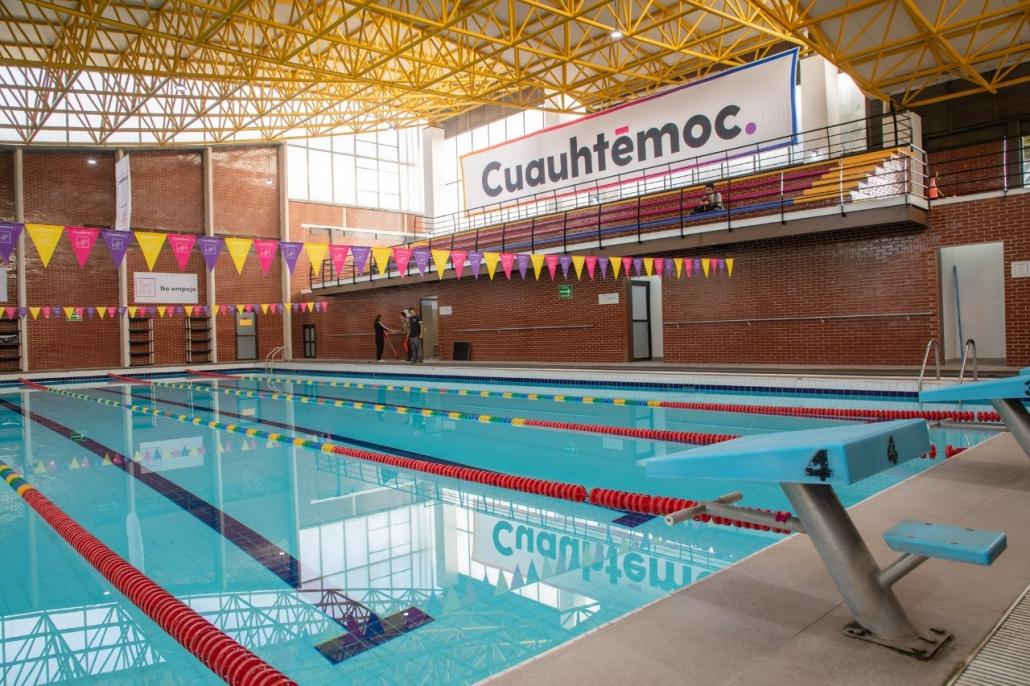Se ampliaron de 31 a 42 las actividades de los 10 centros deportivos de la alcaldía Cuauhtémoc