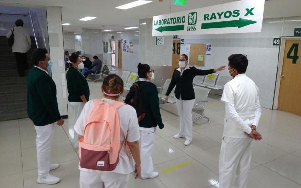 Invita IMSS a personal médico y de enfermería a reforzar voluntariamente Equipos COVID para etapa crítica invernal