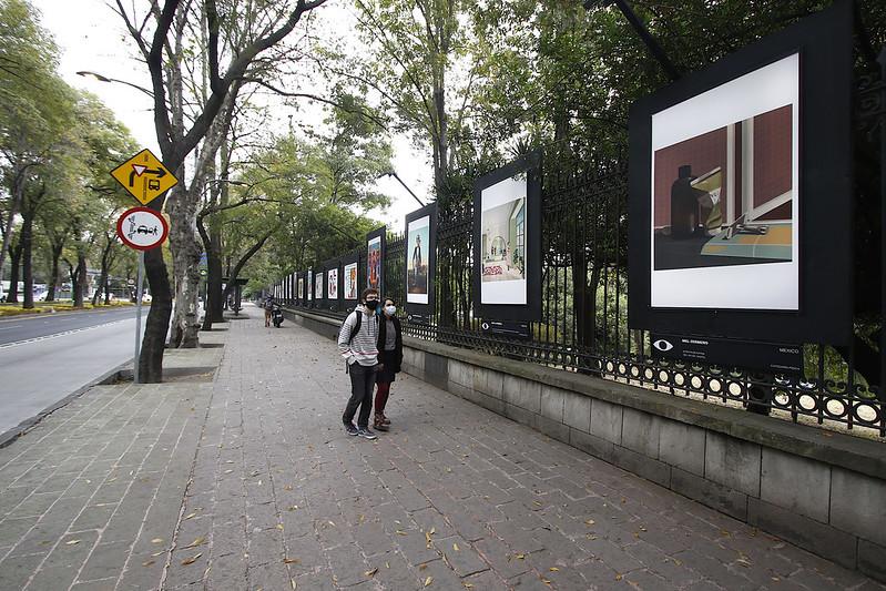 Segunda Bienal de Ilustración llega a las Galerías Abiertas de Rejas de Chapultepec