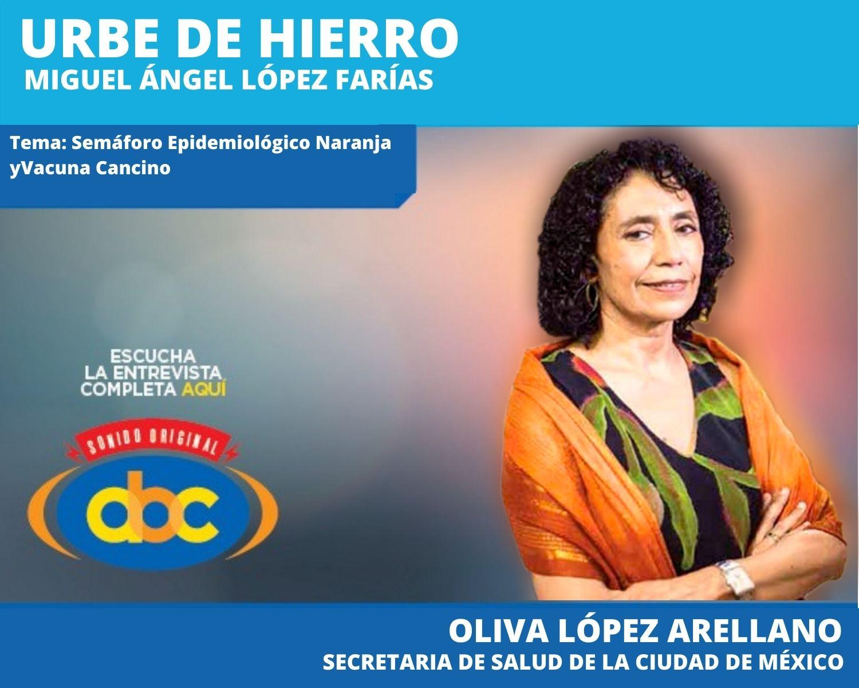 Inicia el protocolo de la Vacuna Cancino con 5 mil voluntarios en la Ciudad de México: Oliva López Arellano
