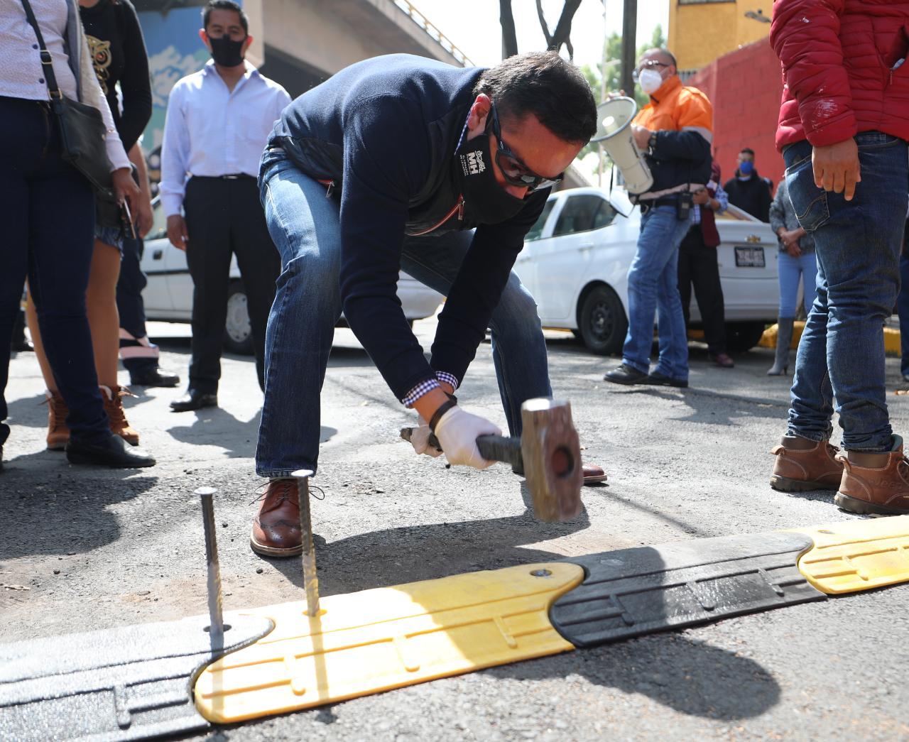 """""""Enchúlame la Colonia"""" suma más de 2 mil servicios en Alcaldía Miguel Hidalgo"""