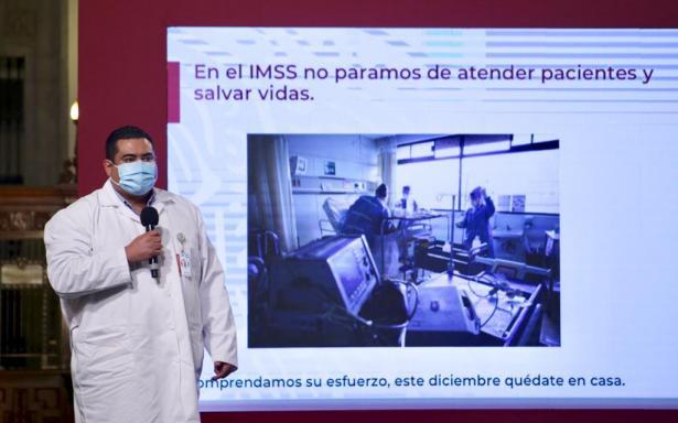 Médicos del IMSS piden corresponsabilidad a la población para quedarse en casa y evitar mayores contagios
