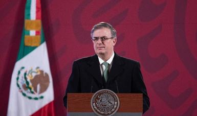 Hoy se embarcó el primer lote de vacunas de  Pfizer y BioNTech, con destino a México.