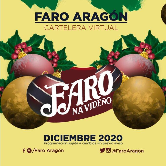 Celebrará Faro Aragón fiestas decembrinas con mensajes de esperanza y amor