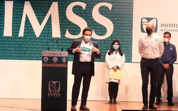 Más de 300 trabajadores de la salud del IMSS llegaron  a la Ciudad de México para integrarse a la Operación Chapultepec