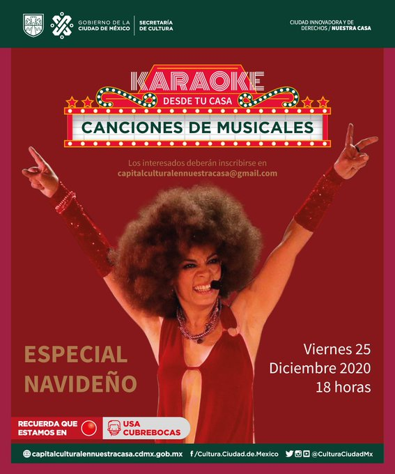 Karaoke desde tu Casa ofrecerá un recalentado musical