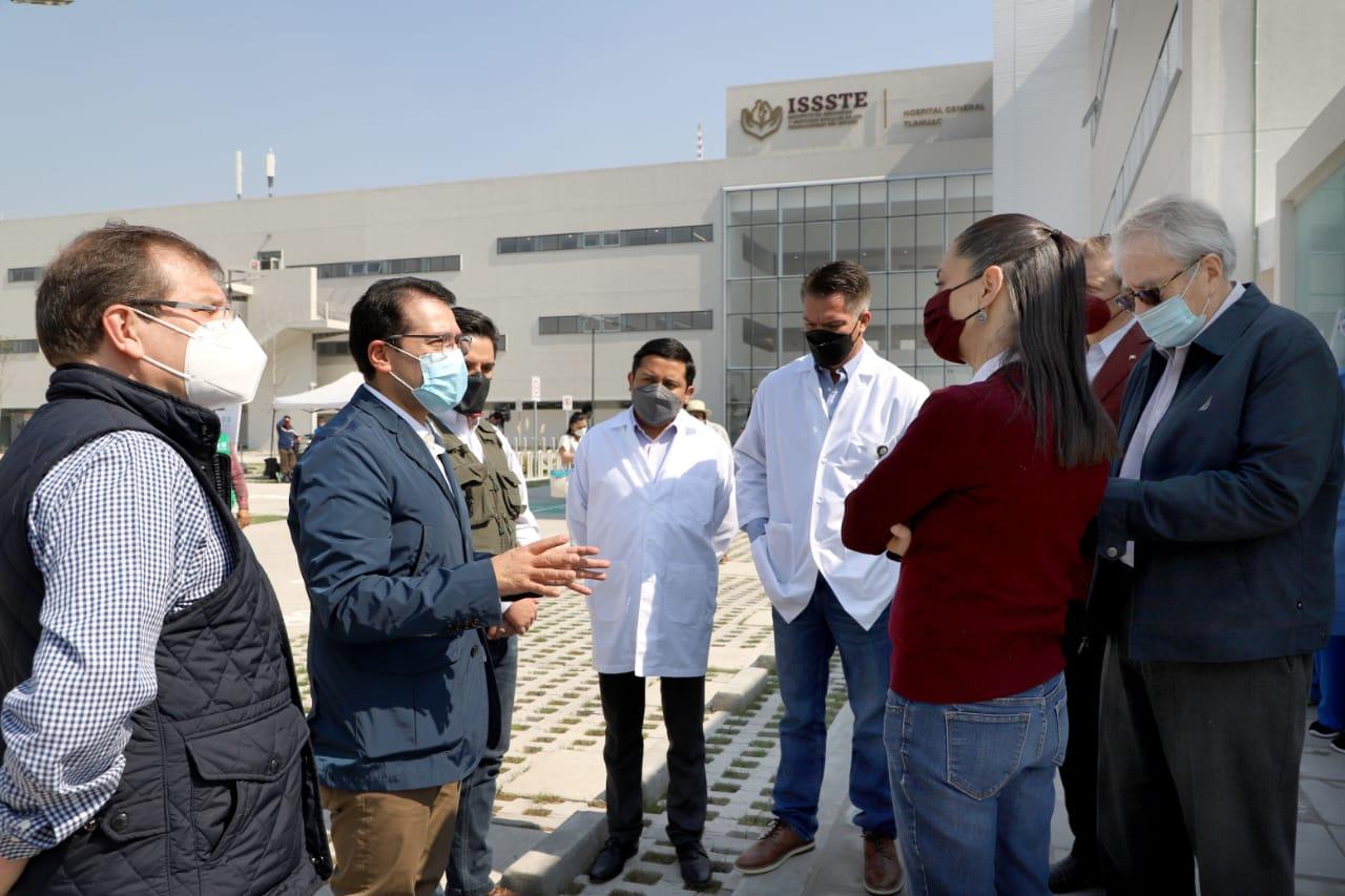 """Este lunes inicia operación el Hospital del ISSSTE """"Tláhuac"""""""