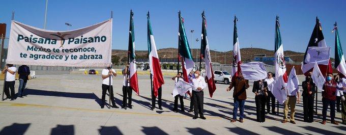 INM y autoridades de Baja California arrancan Operativo Invierno 2020 del Programa Paisano
