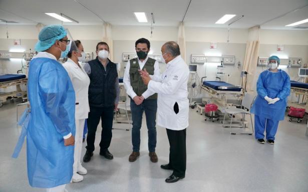 Para el último jalón en el combate a la pandemia, llegarán la Ciudad México 640 médicos y enfermeras del IMSS