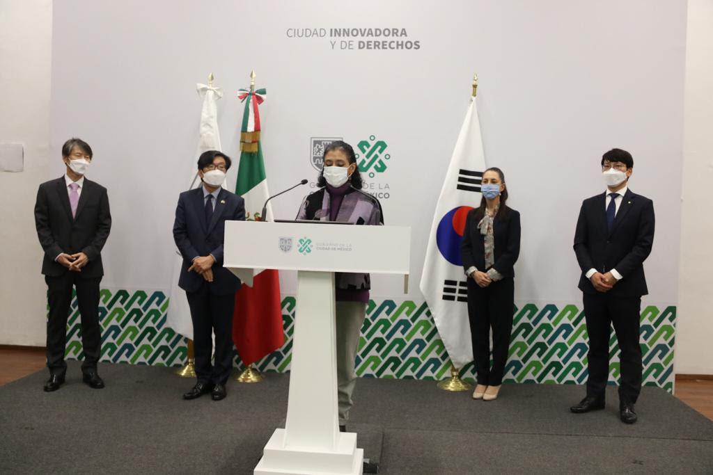 Recibe Gobierno capitalino donativo de insumos médicos por parte de República de Corea