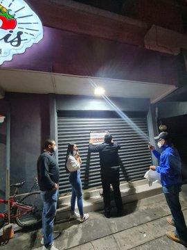 Suspende COPRISEM siete bares en Toluca por no respetar horario límite de funcionamiento