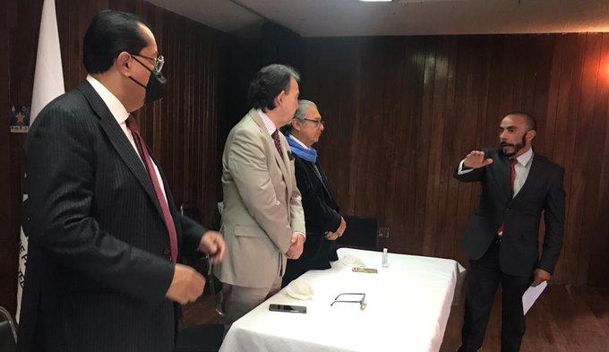 Miguel Ángel López Farías asume la presidencia  de la ANPERT