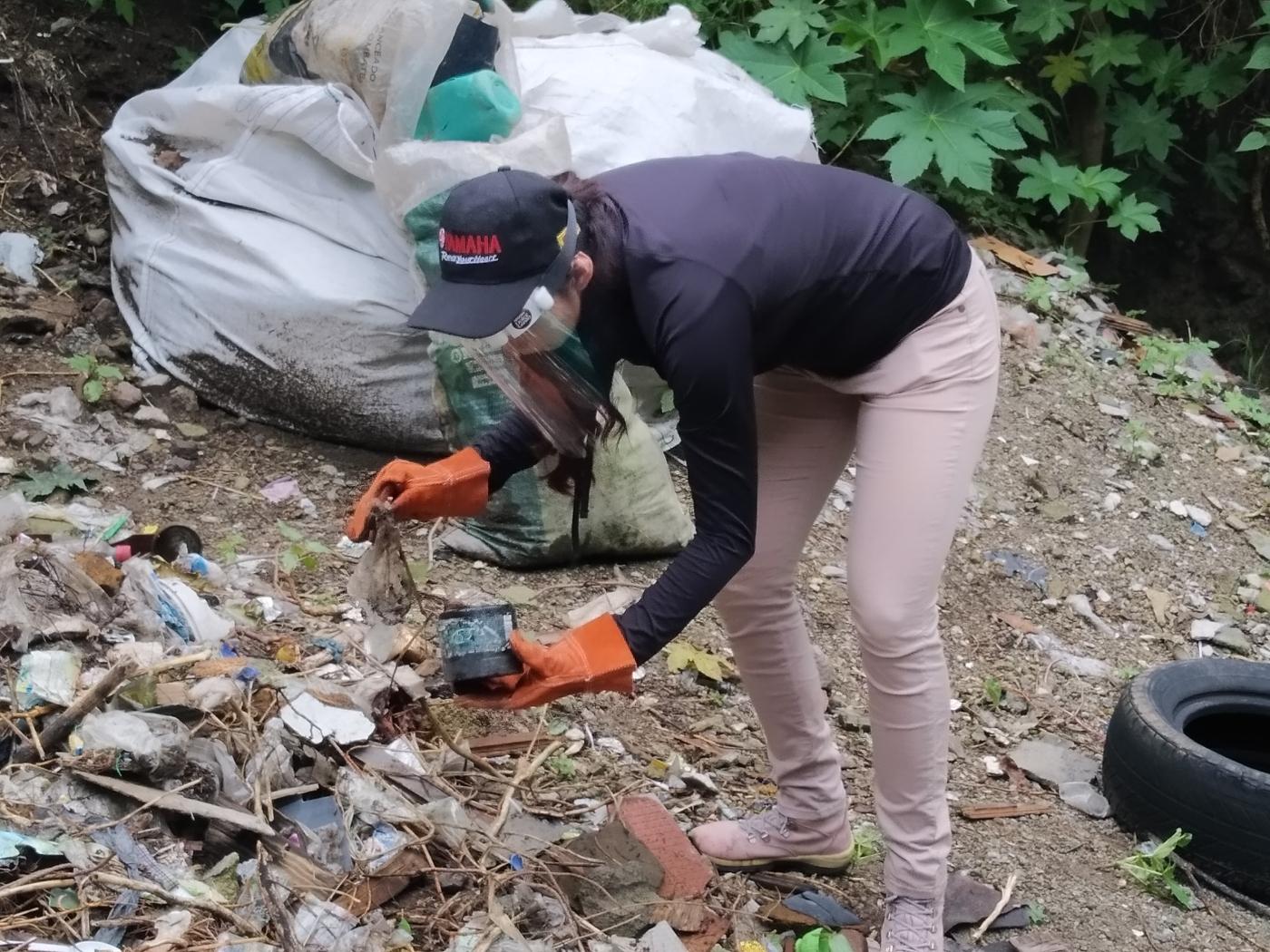 Retiran de la barranca Tarango 6.3 toneladas de residuos sólidos urbanos