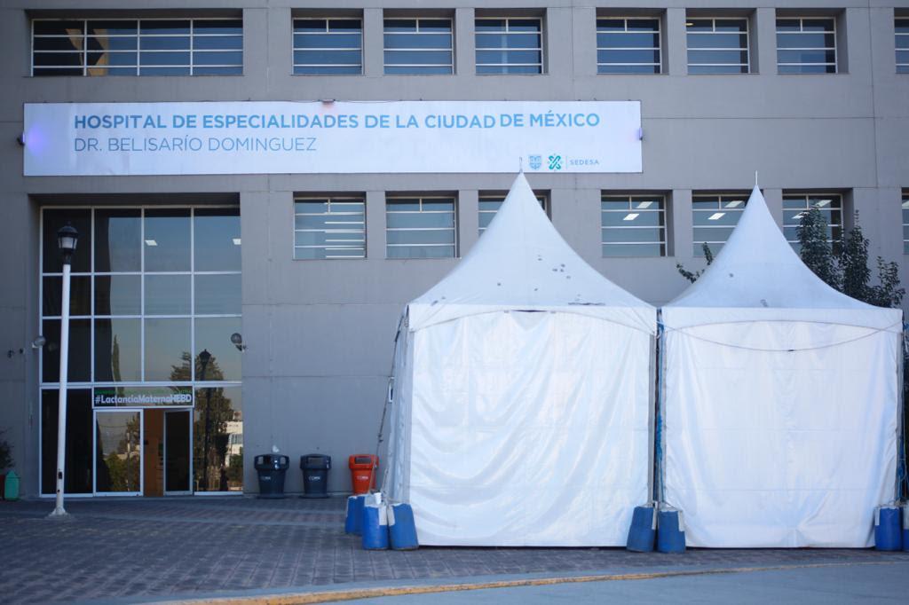 Incrementa Gobierno capitalino 41 por ciento capacidad hospitalaria en Ciudad de México