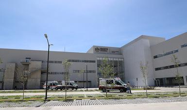 "Listo el nuevo hospital general ""Tláhuac"" del ISSSTE"