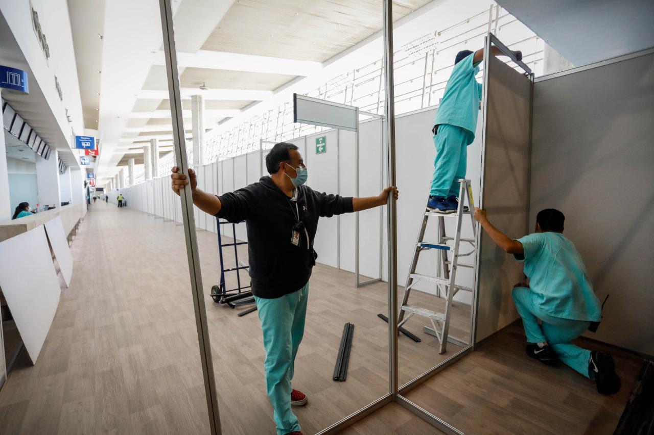 Amplían Gobierno capitalino y 'Sumamos por México' capacidad hospitalaria en la Unidad Temporal COVID-19 Citibanamex